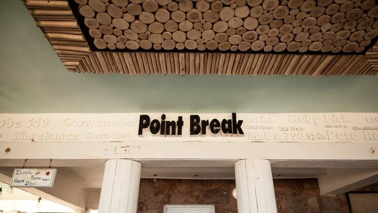 Point Break beach bar in Cabarete